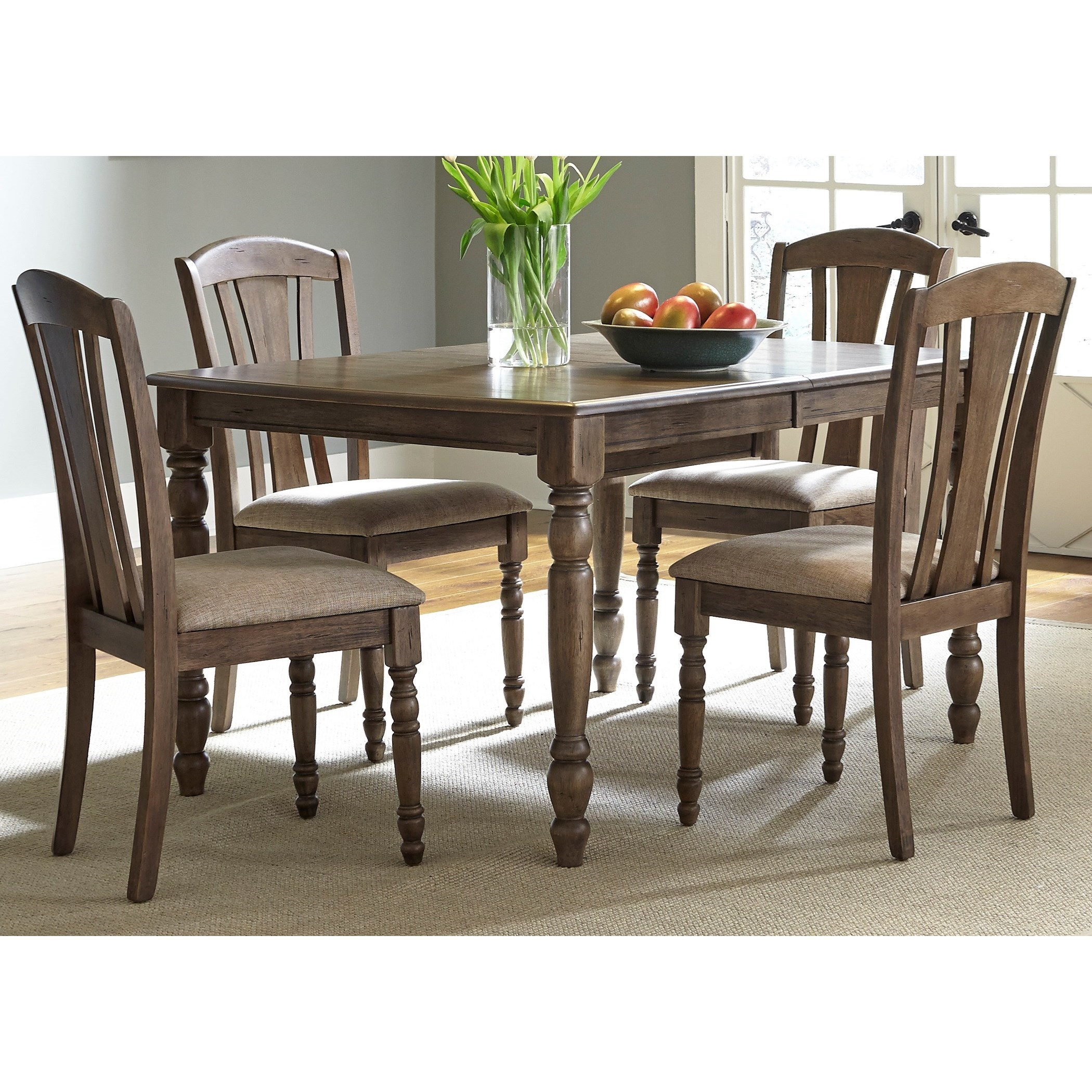 Liberty Furniture Dining Room Sets: Liberty Furniture Candlewood 163-CD-5RLS Casual 5 Piece