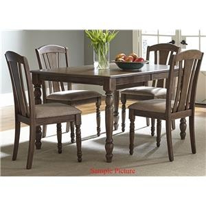 Liberty Furniture Candlewood 5 Piece Rectangular Table Set