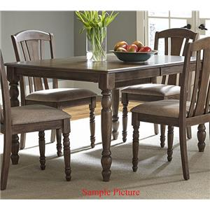Vendor 5349 Candlewood Rectangular Leg Table