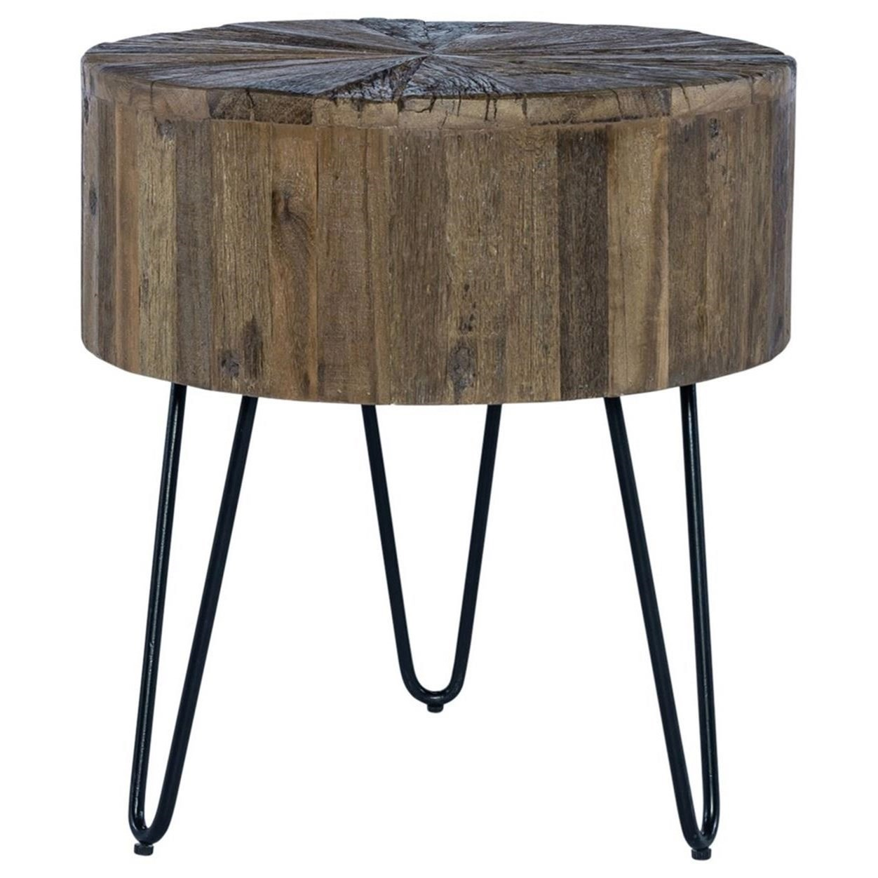 Canyon Accent End Table by Liberty Furniture at Northeast Factory Direct