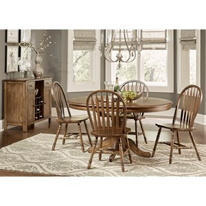 Liberty Furniture Carolina Crossing Casual Dining Room Group