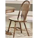 Liberty Furniture Carolina Crossing Windsor Side Chair - Item Number: 186-C1000S