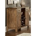 Liberty Furniture Carolina Crossing Dining Server - Item Number: 186-SR4836