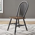 Liberty Furniture Carolina Crossing Windsor Side Chair - Item Number: 186B-C1000S
