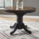 Liberty Furniture Carolina Crossing Oval Pedestal Dining Table - Item Number: 186B-CD-PED
