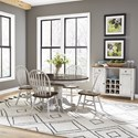 Liberty Furniture Carolina Crossing Casual Dining Room Group - Item Number: 186W Dining Room Group 1