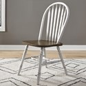 Liberty Furniture Carolina Crossing Windsor Side Chair - Item Number: 186W-C1000S