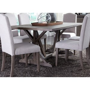 Liberty Furniture Carolina Lakes Trestle Table