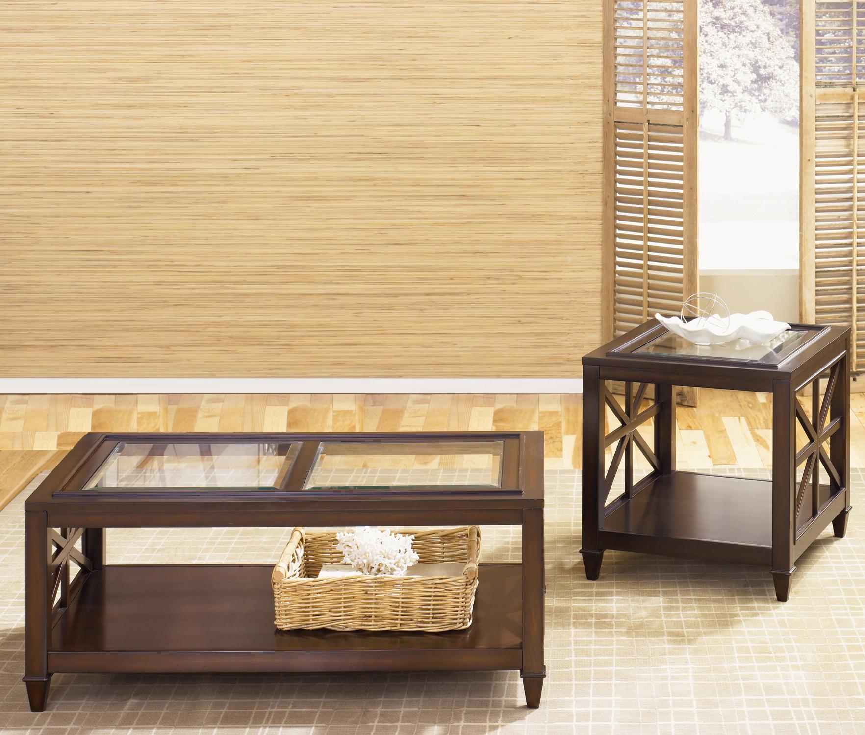 Liberty Furniture Caroline 3-Piece Occasional Table Set - Item Number: 318-OT-SET05