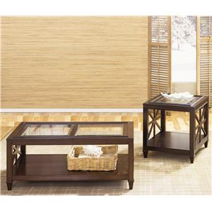 Vendor 5349 Caroline 3-Piece Occasional Table Set