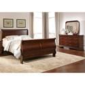 Liberty Furniture Carriage Court King Sleigh Bedroom Group - Item Number: 709-BR-KSLDM