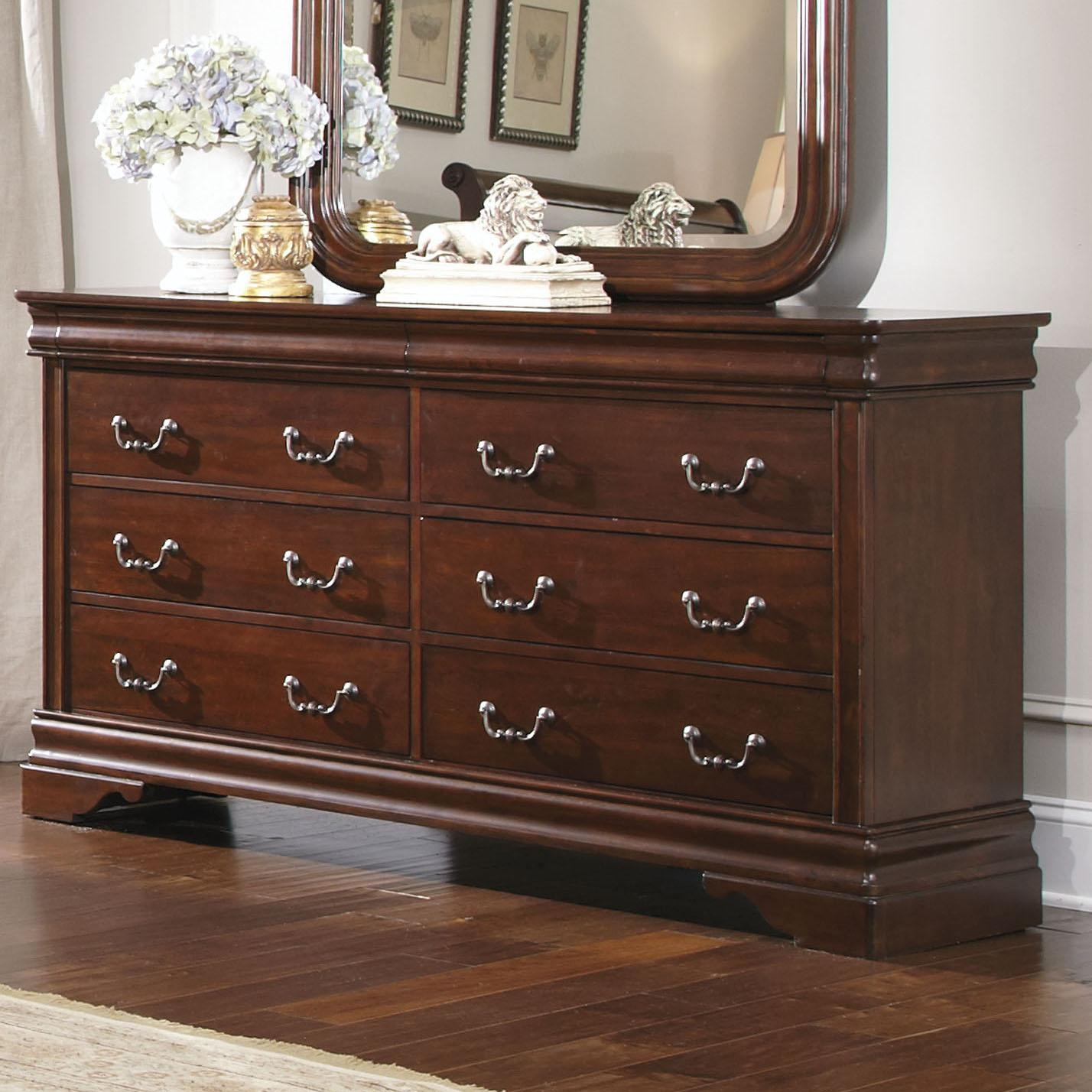 Liberty Furniture Carriage Court Single Dresser - Item Number: 709-BR30