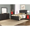 Liberty Furniture Carrington II Queen Bedroom Group - Item Number: 917-BR-QPBDM