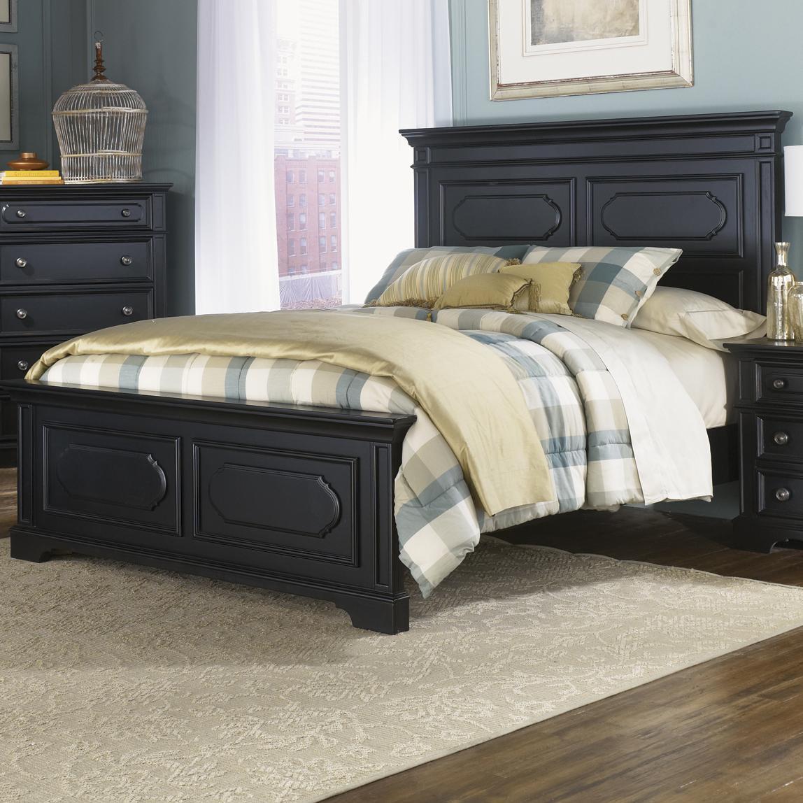 Liberty Furniture Carrington II Queen Panel Bed - Item Number: 917-BR13+14+72