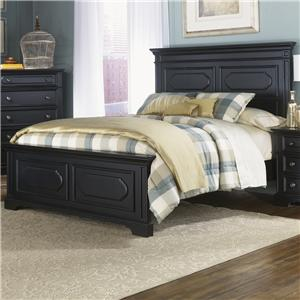 Vendor 5349 Carrington II Queen Panel Bed