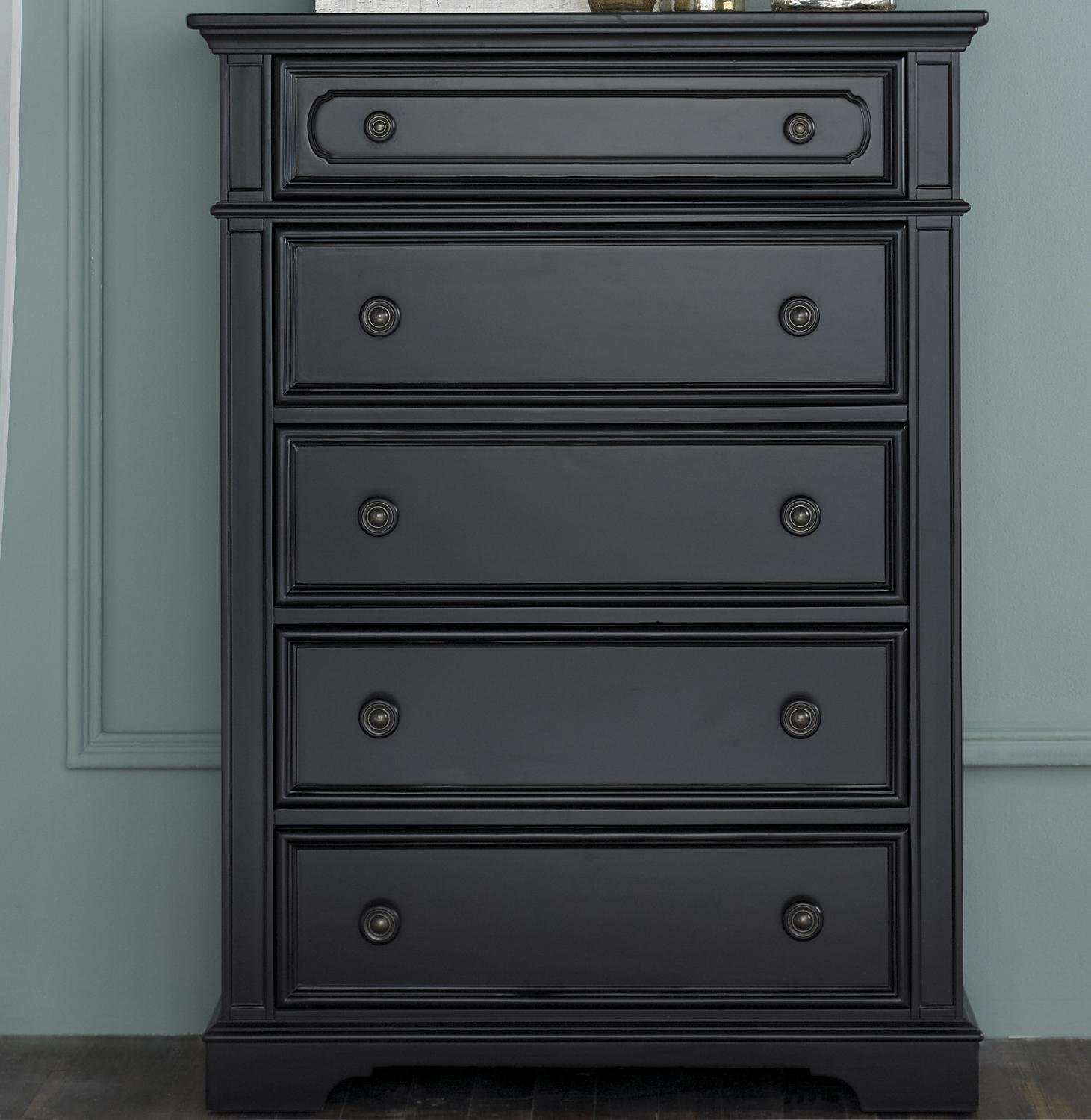 Liberty Furniture Carrington Ii 917 Br41 Chest With 5 Pull Drawers Furniture And Appliancemart