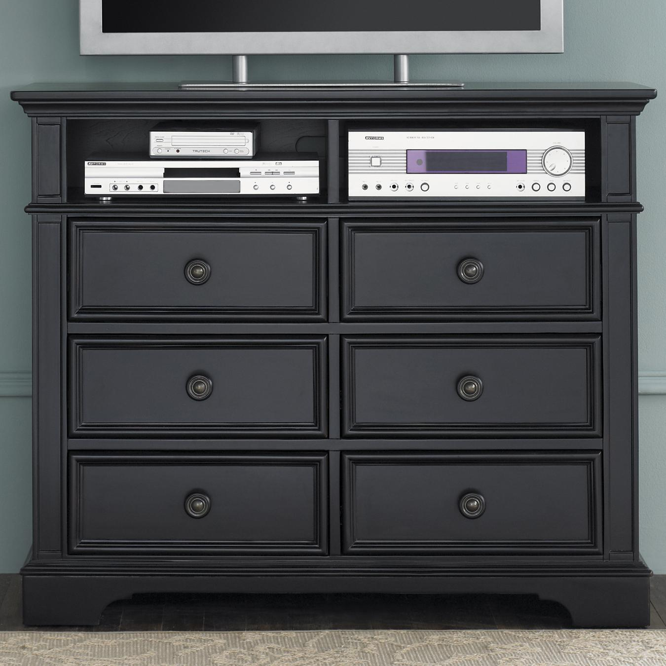 Liberty Furniture Carrington II Media Chest - Item Number: 917-BR45