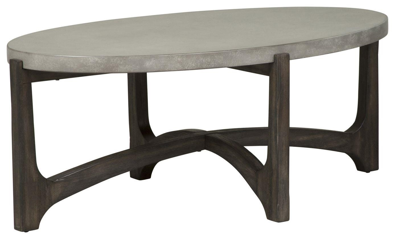 Cascade Oval Cocktail Table by Freedom Furniture at Ruby Gordon Home