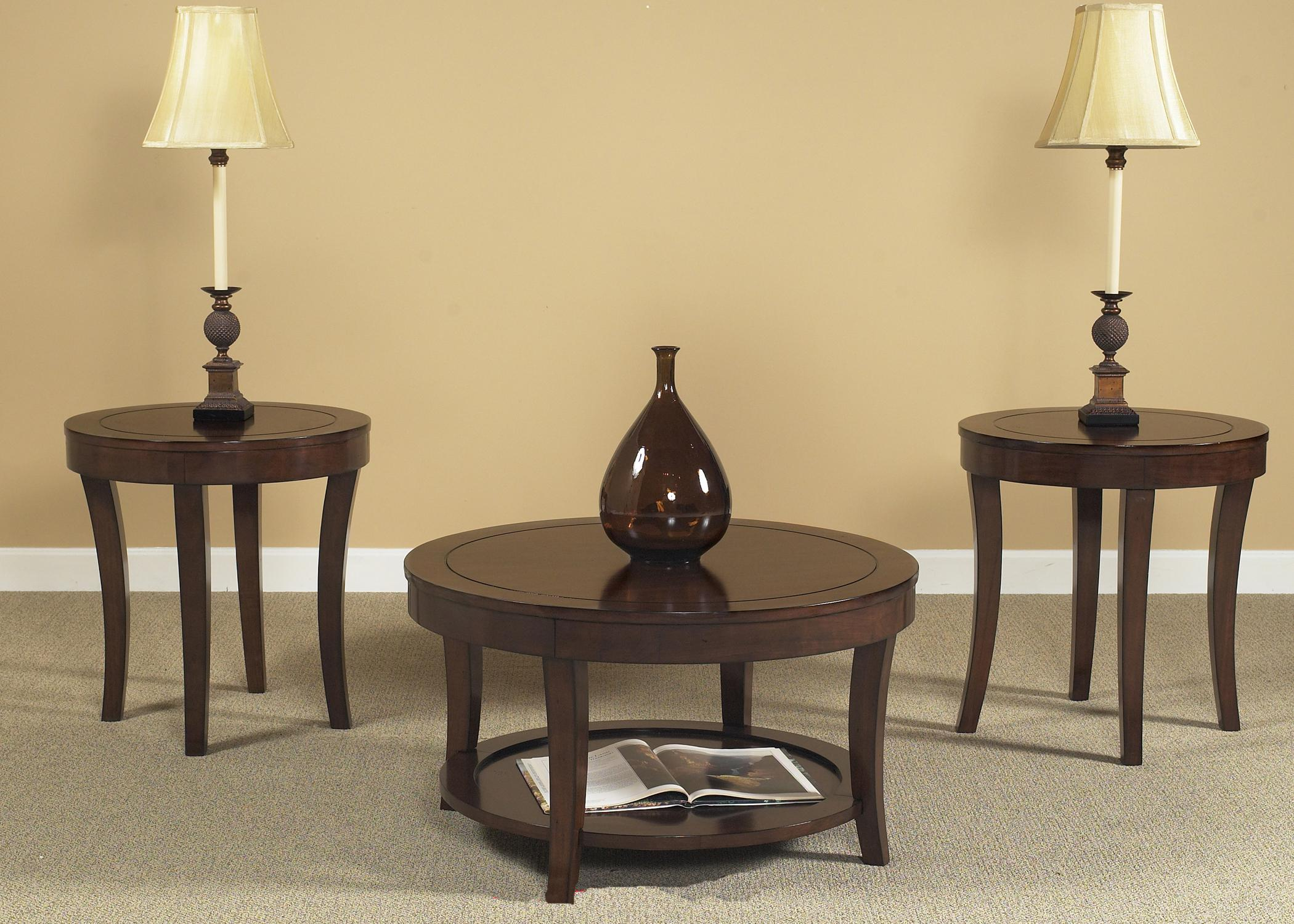 Liberty Furniture Casual Living 168 3 Pack Occasional Tables - Item Number: 168-OT3000
