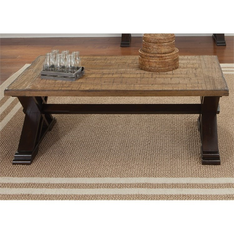 Liberty Furniture Catalina 105 Cocktail Table - Item Number: 105-OT1010