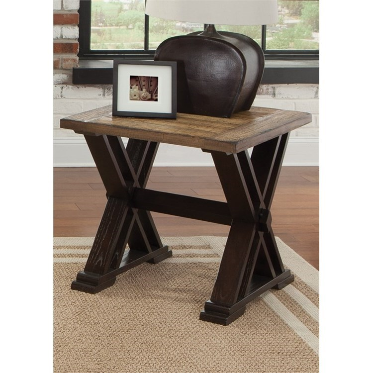 Liberty Furniture Catalina 105 End Table - Item Number: 105-OT1020