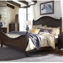 Liberty Furniture Catawba Hills Bedroom Queen Poster Bed  - Item Number: 816-BR-QPS
