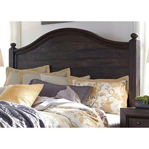 Liberty Furniture Catawba Hills Bedroom King Poster Headboard