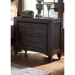 Liberty Furniture Catawba Hills Bedroom 2 Drawer Night Stand