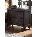 Liberty Furniture Catawba Hills Bedroom 2 Drawer Night Stand - Item Number: 816-BR61