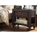 Liberty Furniture Catawba Hills Bedroom Chair Side Night Stand - Item Number: 816-BR62
