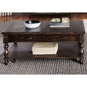 Liberty Furniture Catawba Hills Occassional Rectangular Cocktail Table - Item Number: 816-OT1010