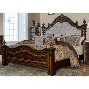 Liberty Furniture Chamberlain Court Queen Upholstered Bed