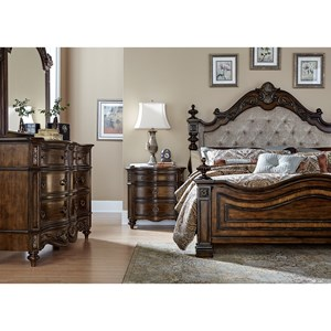 Liberty Furniture Chamberlain Court Queen Bedroom Group