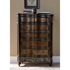 Liberty Furniture Chamberlain Court 6 Drawer Lingerie Chest
