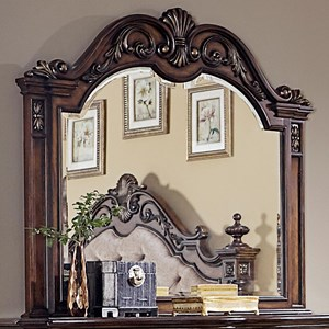 Liberty Furniture Chamberlain Court Mirror with Wood Frame