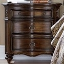 Liberty Furniture Chamberlain Court 3 Drawer Night Stand - Item Number: 491-BR61