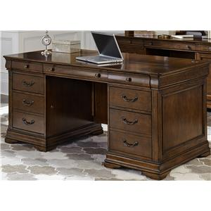 Liberty Furniture Chateau Valley Jr Executive Desk