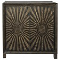 Liberty Furniture Chaucer 2-Door Wine Accent Cabinet - Item Number: 2041-AC3839