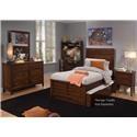 Liberty Furniture Charlton Lane 4PC Full Bedroom Set - Item Number: 628-4PC-FPBR