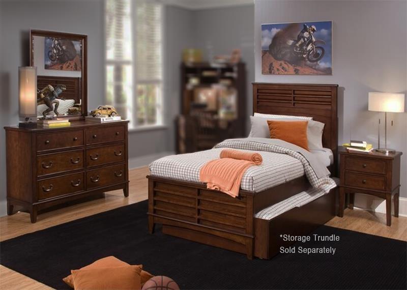 4PC Twin Bedroom Set