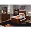 Liberty Furniture Charlton Lane 4PC Twin Bedroom Set - Item Number: 628-4PC-TPBR