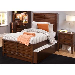 Liberty Furniture Chelsea Square Youth Full Panel Bed with Trundle