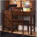 Liberty Furniture Chelsea Square Youth Student Desk Chair - Shown with Student Desk and Hutch