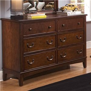 Liberty Furniture Chelsea Square Youth Double Dresser