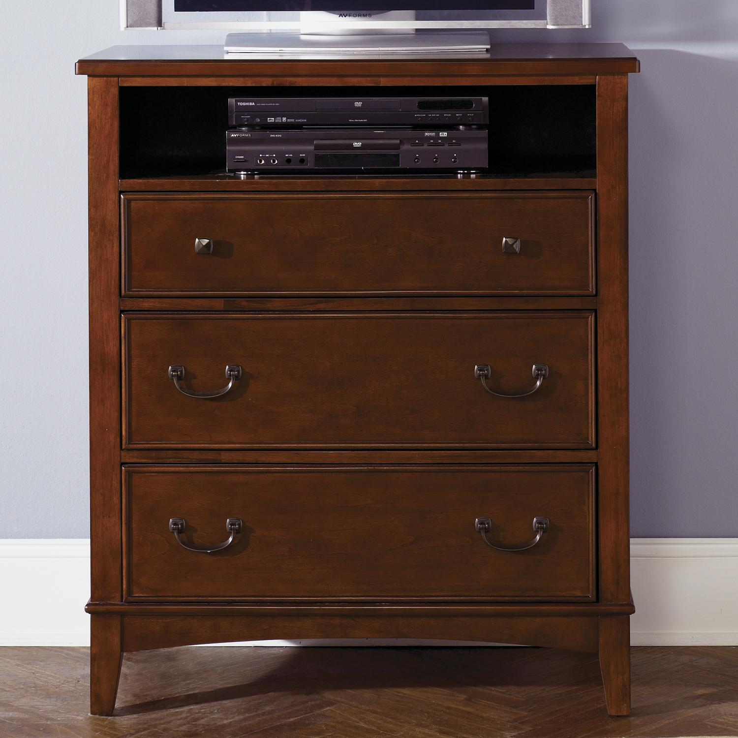 Liberty Furniture Chelsea Square Youth 3-Drawer Chest - Item Number: 628-BR40