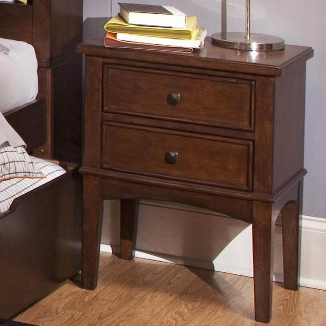 Liberty Furniture Chelsea Square Youth Night Stand - Item Number: 628-BR60