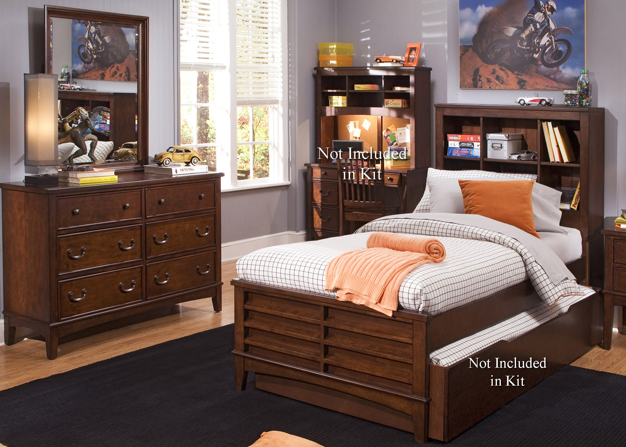 Liberty Furniture Chelsea Square Youth Bedroom Group - Item Number: 628-YBR-FBBDM