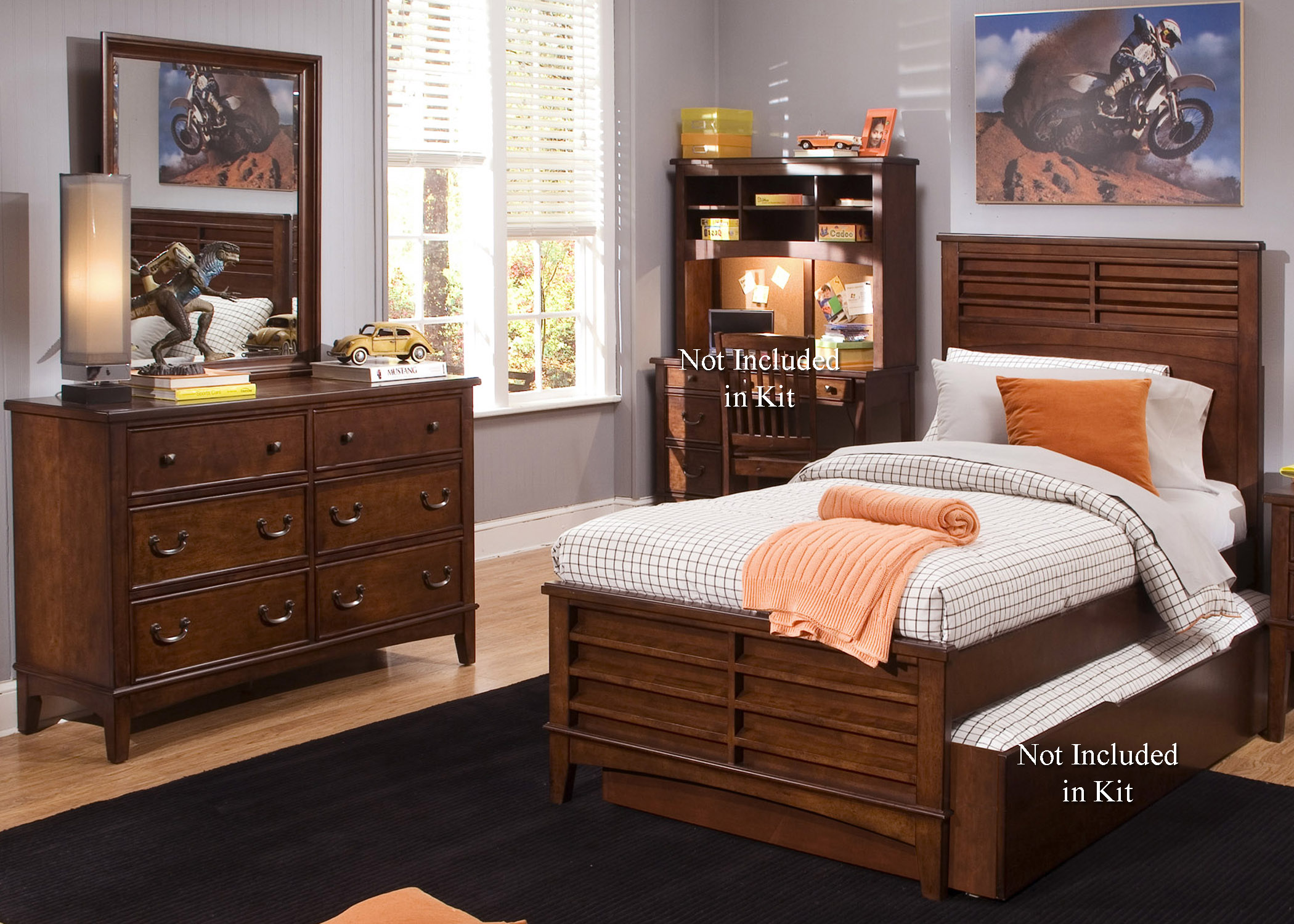 Liberty Furniture Chelsea Square Youth Bedroom Group - Item Number: 628-YBR-FPBDM