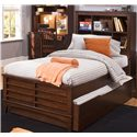 Liberty Furniture Chelsea Square Youth Full Bookcase Bed - Item Number: 628-YBR-SET202