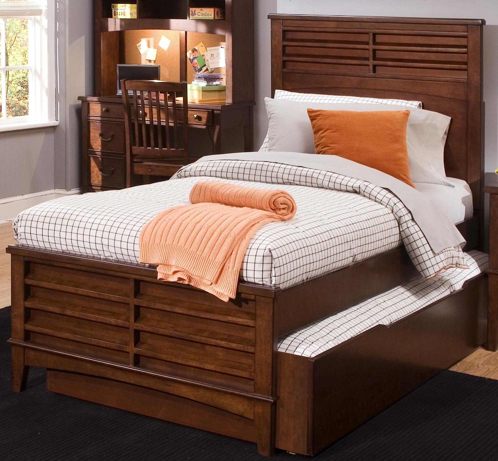 Liberty Furniture Chelsea Square Youth Twin Panel Bed - Item Number: 628-YBR-SET87